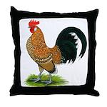 Dutch Bantam Rooster Throw Pillow