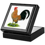 Dutch Bantam Rooster Keepsake Box