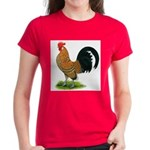 Dutch Bantam Rooster Women's Dark T-Shirt