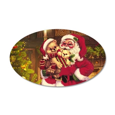 Santa Claus 3 Wall Decal