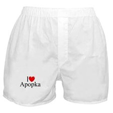 """I Love Apopka"" Boxer Shorts"