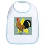 Dutch Bantam Cock Bib