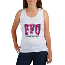FFU Pink Outline Tank Top