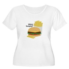 Whos Hungry Plus Size T-Shirt