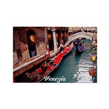 Gondolas in Venice Magnets