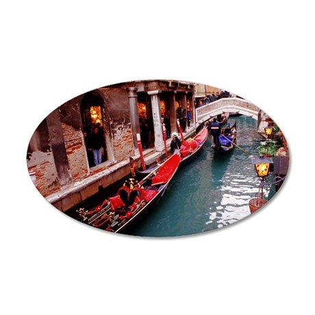 Gondolas in Venice Wall Decal