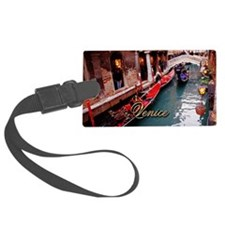 Gondolas In Venice Luggage Tag
