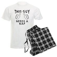 This Guy Needs a Nap Pajamas