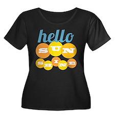 Hello Sunshine Plus Size T-Shirt