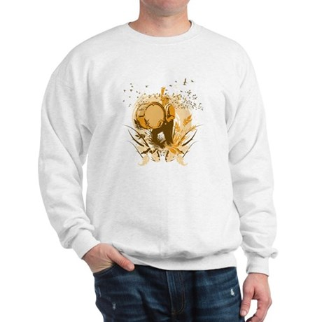 Retro Drummer Sweatshirt