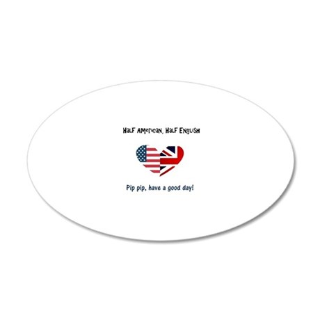 20x12 Oval Wall Decal