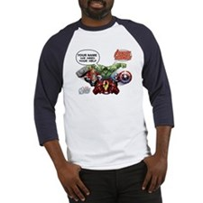 Avengers Assemble Personalized Des Baseball Jersey