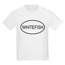 WHITEFISH (oval) T-Shirt
