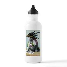 Suffragette Cat Sports Water Bottle