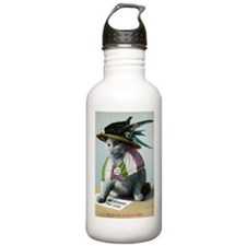Suffragette Cat Water Bottle