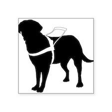 """Cute Animal guide Square Sticker 3"""" x 3"""""""