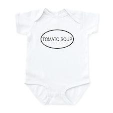TOMATO SOUP (oval) Infant Bodysuit