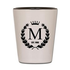 Custom Initial Logo Monogrammed Shot Glass