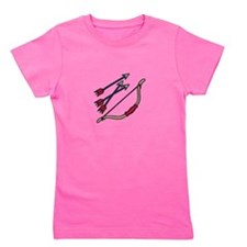 Bow Arrows Girl's Tee