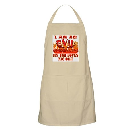 Evil Conservative (Big Oil) BBQ Apron