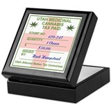 THE 420 MARIJUANA Keepsake Box