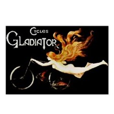 Cycles Gladiator Postcards (Package of 8)