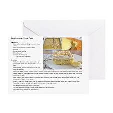 carrot cake recipe Greeting Card