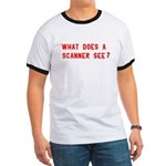 What does a scanner see? Ringer T