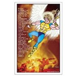 Prayer of St. Michael 23 x 35 Large Poster