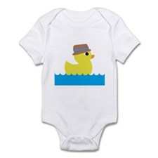 Duck in Water Body Suit