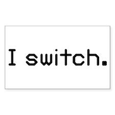 I switch Rectangle Sticker