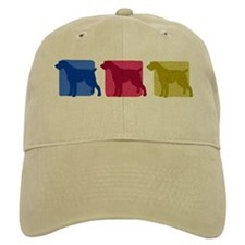 Color Row German Wirehaired Pointer Hat (Khaki)