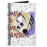 Music is My Heartbeat Journal