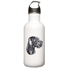 Great Dane HS Blue UC Water Bottle