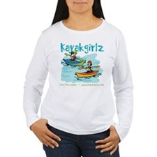 Cute Boat lady T-Shirt