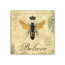 modern vintage French queen bee Sticker