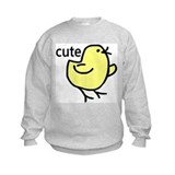 Cute Chick Sweatshirt