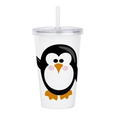 Penguin Acrylic Double-wall Tumbler