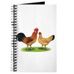 Buff Catalana Chickens2 Journal