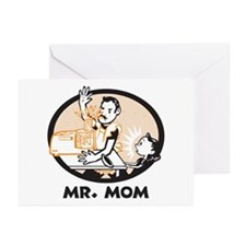 Mr. Mom gifts for dad Greeting Cards (Pk of 10