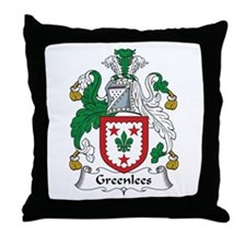 Greenlees Throw Pillow