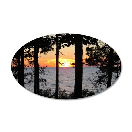 Lake Superior Sunset Wall Decal