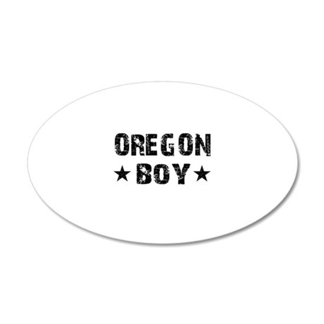 Oregon Boy Wall Sticker