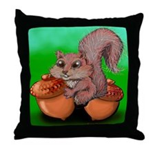 Cute Endowment Throw Pillow