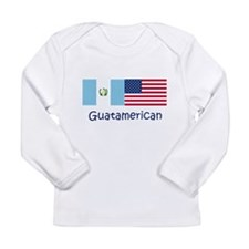 4-3-Guatamerican Long Sleeve T-Shirt