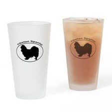 TIBETAN SPANIEL Drinking Glass