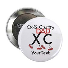 """CUSTOMIZE Cross Country DAD 2.25"""" Button"""