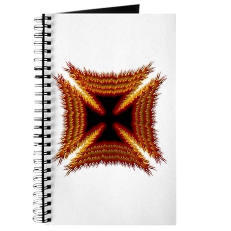 Red Phoenix Biker Cross Journal