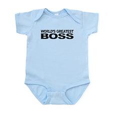 World's Greatest Boss Infant Bodysuit