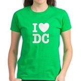 I Love DC Tee